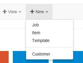 new template menu navigation