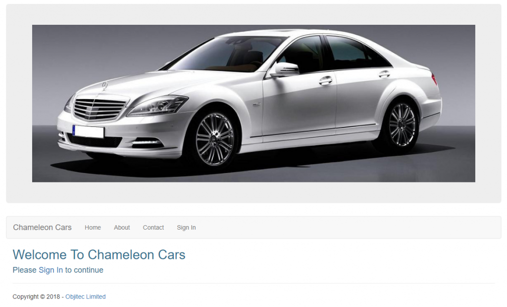 executive car rental system